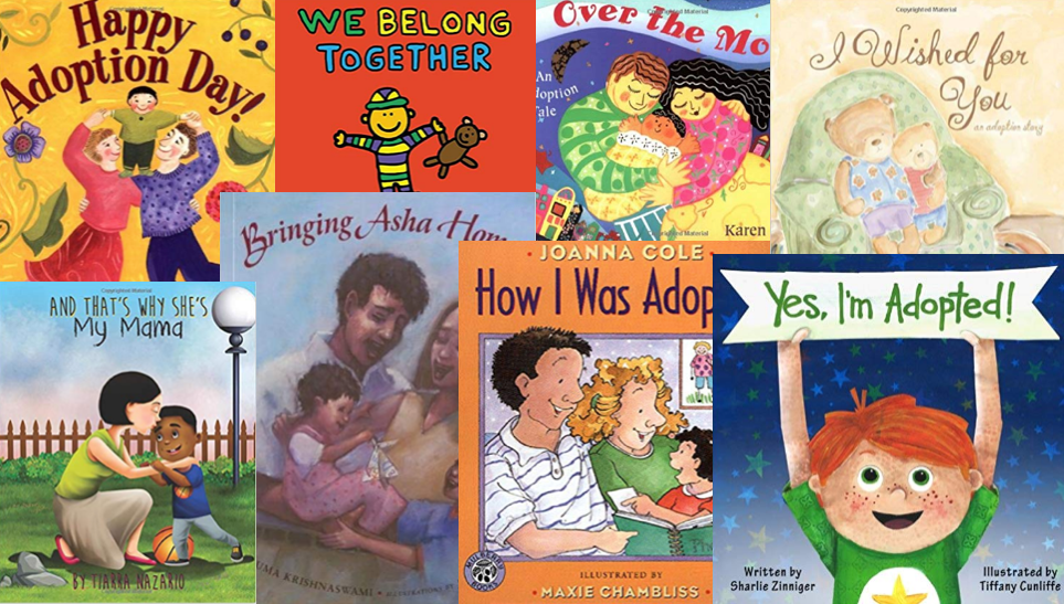 adoption storybooks for young children